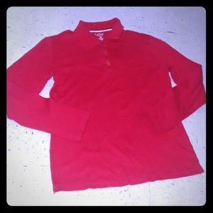 French toast Red Unisex long sleeve shirt size 18